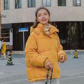 2018冬裝新款ins韓版短款加厚羽絨棉衣女百搭學生外套面包服棉襖 台北日光