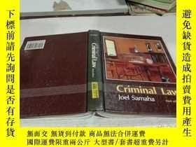 二手書博民逛書店Criminal罕見Law joel samada 刑法 喬爾·薩馬達Y212829