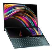 華碩 ASUS ZenBook Pro Duo UX581GV-0051A9750H 蒼宇藍 (/I7-9750H/32G/1TB M.2 PCIE SSD/RTX2060/WIN10)
