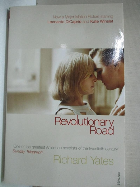 【書寶二手書T1/原文小說_CVN】Revolutionary Road (Vintage Classics)_YATES, RICHARD