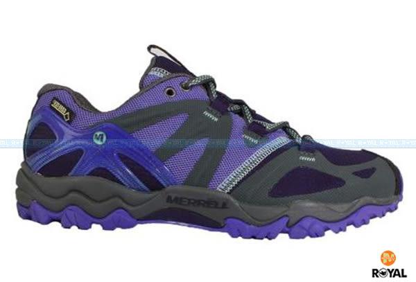 MERRELL 新竹皇家 GRASSBOW SPORT 紫黑 水陸兩棲 運動鞋 女款 NO.I6159