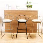 吧台椅高腳凳創意高椅美式吧台凳椅子酒吧椅吧凳工作椅餐椅