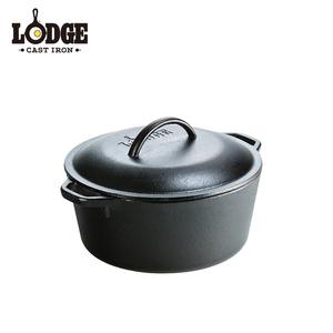 【美國Lodge】鑄鐵荷蘭鍋 5Q
