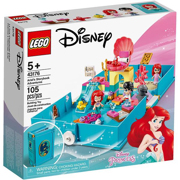 樂高積木 LEGO《 LT43176》迪士尼公主系列 - Ariel's Storybook Adventures ╭★ JOYBUS玩具百貨