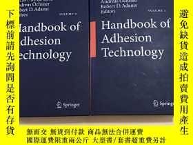 二手書博民逛書店Handbook罕見of Adhesion Technology 粘合技術手冊 (1,2 兩本合售)Y3233