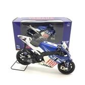 1:18 雅馬哈 M1 MOTO GP 摩托車模型(油箱和座位是合金)  深藏blue