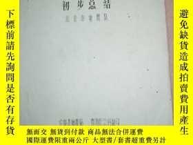 二手書博民逛書店罕見唐山7.8級大震京區前兆反映初步總結Y24600 北京市地震