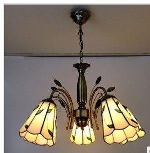設計師美術精品館蒂凡尼燈飾燈具tiffany客廳燈吊燈餐廳現代書房臥室鐵藝飯廳玻璃