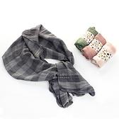 經典格紋棉感圍巾 兒童圍巾 脖圍 薄圍巾 春裝