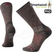 Smartwool PhD OD Hvy SW001073-236灰褐 男戶外重量級減震中長襪 美麗諾羊毛襪/戶外襪機能排汗襪/雪襪