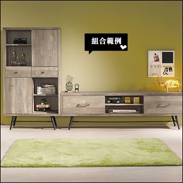 【水晶晶家具/傢俱首選】科瑞81*145cm工業風雙抽推門收納櫃 JX8185-1