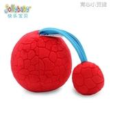 嬰兒視力訓練紅球0-3個月1歲寶寶球類玩具益智早教布球手抓球  育心小館