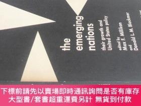 二手書博民逛書店英文原版罕見THE EMERGING NATIONSY7215 MAX F.MILLIKAN LITTLE ,
