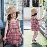 童裝女童連身裙夏裝小女孩裙子兒童公主裙純棉吊帶裙【奇趣小屋】