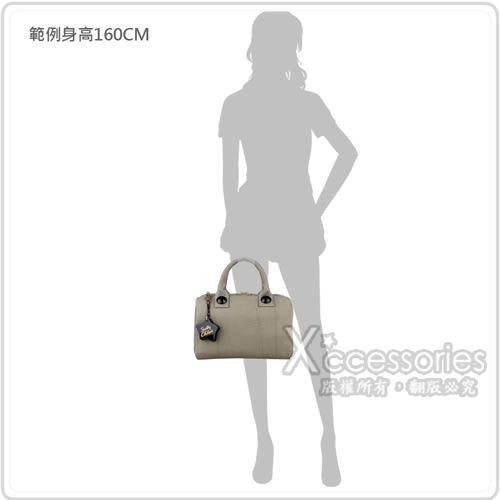 SBC See by Chloe 經典LOGO字樣輕薄帆布拉鍊手提旅行包(小/灰褐)