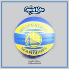 SPALDING 籃球 NBA 新款 隊徽球 勇士 黃藍 7號球 SPA83515【Speedkobe】