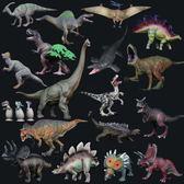侏羅紀仿真恐龍動物模型腕龍迅猛龍 全館免運