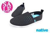 Native休閒鞋 全尺碼 VENICE水手鞋 流行 情侶鞋 零碼出清 K9402#黑色◆OSOME奧森鞋業