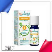 法國 Puressentiel 歐盟BIO薑精油 5ml 即期品2019.5【巴黎丁】