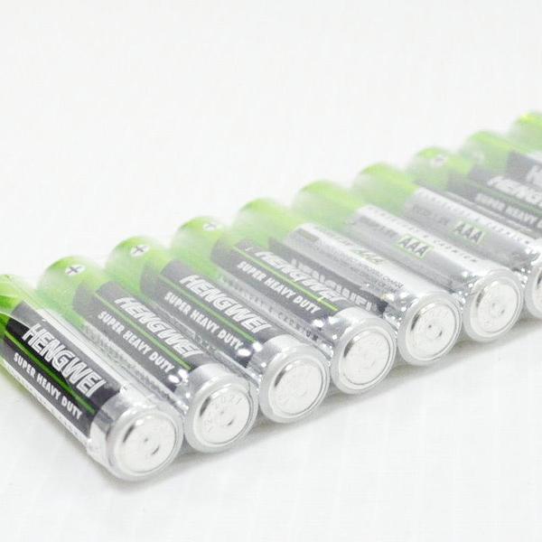 【GU330】恆威電池10入 環保碳鋅電池 3號 4號電池 EZGO商城