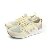 NEW BALANCE REVlite 懶人鞋 運動鞋 跑鞋 輕 舒適 好穿 避震 女鞋 淺黃 米色 WRL420SD no286