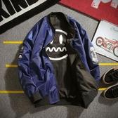 【YPRA】男士外套春季韓版休閒棒球服夾克
