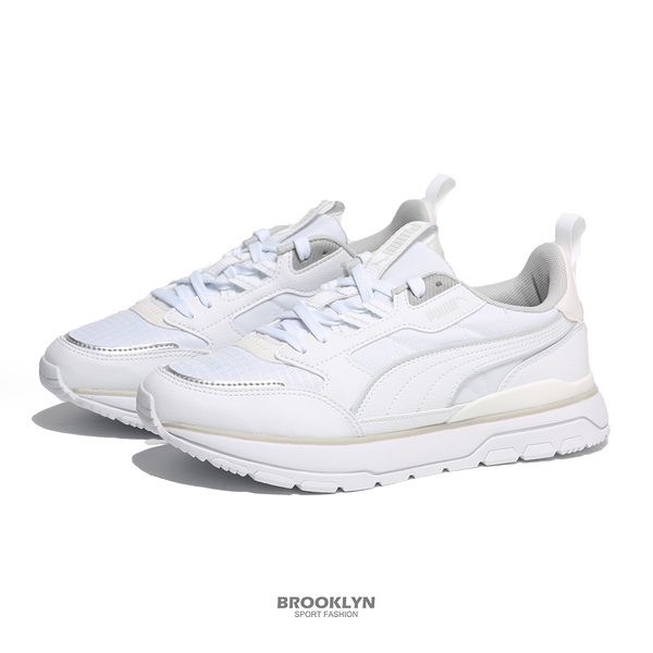PUMA 休閒鞋 R78 TREK 全白 復古 運動鞋 男女 (布魯克林) 38072802