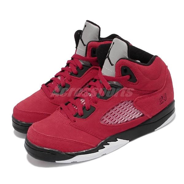 Nike 童鞋 Air Jordan 5 Raging Bull 喬丹 中童鞋 AJ5 【ACS】 440889-600