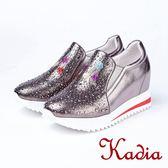 kadia.俏皮韓妞M內增高厚底包鞋(8520-88灰色)