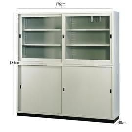 【時尚屋傢俱館】P667特級6x6鋼製拉門公文櫃~ 免組裝(免運費)(台灣製)