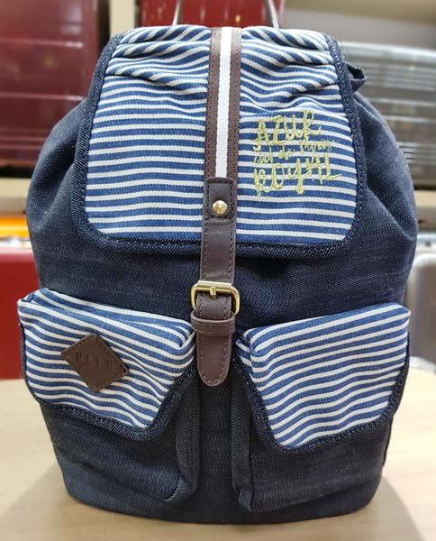 ELLE - 後背包 (藍色)