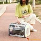 外出後背包便攜貓咪狗狗寵物透氣太空艙貓袋【小獅子】