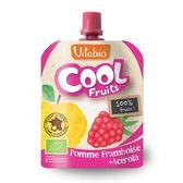 Vitabio 有機優鮮果泥 90g (蘋果、覆盆莓、香蕉)