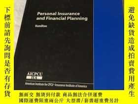 二手書博民逛書店Personal罕見Insurance and Financia