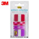 3M 利貼可再貼抽取式超厚材質標籤 686-M3 四色 / 包