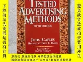 二手書博民逛書店Tested罕見Advertising MethodsY279821 John、Fred Hahn 著 Pr
