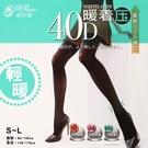 【衣襪酷】蒂巴蕾 暖著壓 天鵝絨褲襪 40D 輕暖 台灣製 De Paree