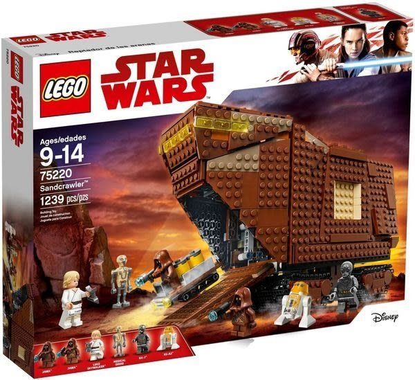 【LEGO樂高】STAR WARS 爪哇族沙漠爬行者 #75220