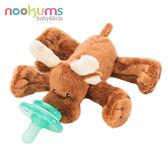 【美國nookums】安撫奶嘴玩偶 - 麋鹿 #NOO001016