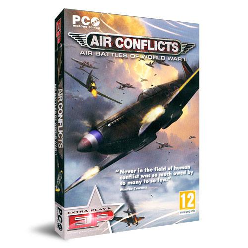 【軟體採Go網】PCGAME-模擬飛行 空戰雄英 Air Conflicts (Extra Play) 盒裝完整版