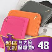B77 韓版短款收納包 小飛機多功能護照包 證件包 短款護照夾 收納袋 旅遊收納