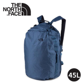 【The North Face GLAM DUFFEL雙肩運動背包45L《藍》】3RHT/後背包/旅行包