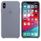 Apple iPhone XS Max 原廠矽膠護套 iPhone XS Max 原廠保護殼【薰衣草灰色】 美國水貨 原廠盒裝