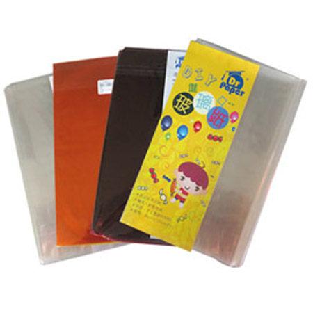 Dr.Paper 2mm多功能進口玻璃紙90*100cm-4色 3入/包