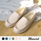 顏色:粉、水藍、米、棕、深藍、黑 此鞋版型正常,請依正常尺碼選購 台灣製造