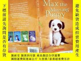 二手書博民逛書店MAX罕見THE MISSING PUPPYY331092