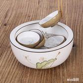 功夫茶具零配件景德鎮手繪陶瓷茶洗杯OU1786『miss洛羽』