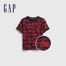 Gap男幼童 布萊納系列 童趣印花圓領T恤 681411-消防車圖案