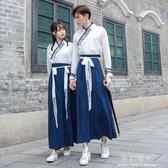 日常改良漢服漢元素情侶中國風套民國學生班服男復古女 完美情人館