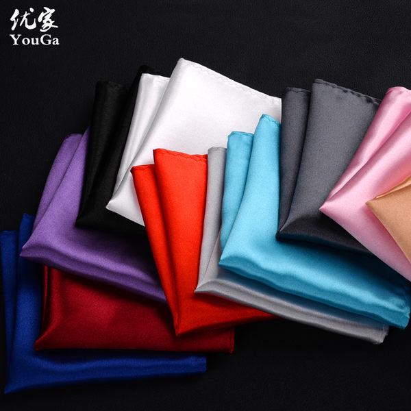 口袋巾定制男士西服口袋巾純色胸巾小方巾 結婚商務宴會佩飾時尚潮 至簡元素